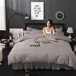 100% ecology Cotton1pcs Duvet cover <font><b>Comforter</b></