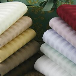 100% EGYPTIAN COTTON DUVET COVER SET 1000 THREAD COUNT STRIP