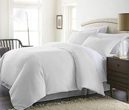 1000 Thread Count Duvet Cover With Zipper & Corner Ties 100%