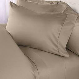 1000 Thread Count Three  Piece California King Size Taupe So