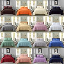 2/3 Piece Duvet Cover Set Ultra Soft Bedding Set Microfiber