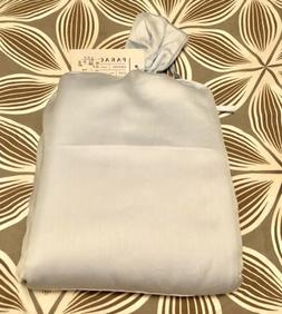 $210 Parachute Cotton Sateen KING Duvet Cover Powder Blue ma