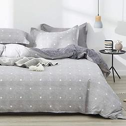 Uozzi Bedding 3 Piece Duvet Cover Set 800 - TC Luxury Hypoal
