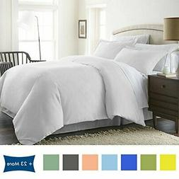 Bed Alter 3 Piece Duvet Cover Set with |White)
