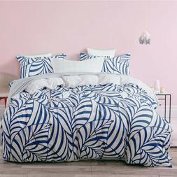 Uozzi Bedding 3 Piece Duvet Cover Set with Zipper, Lightweig