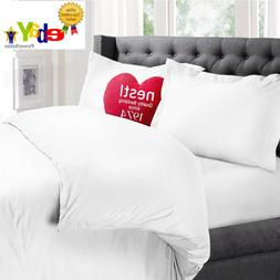 Nestl Bedding 3-Piece Microfiber QUEEN Duvet & Pillow Sham