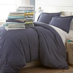 3 piece patterned duvet cover sets by