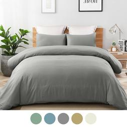 3 Piece Printed Duvet Cover Set Quilt Bed Cover Bedding Set