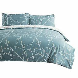 Bedsure 3 Pieces Duvet Cover Set 86x96 inches