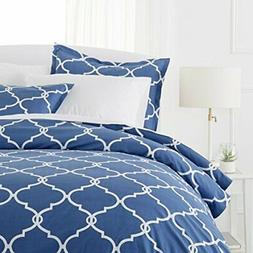 Pinzon 300-Thread-Count 100% Cotton Cool Percale Duvet Cover