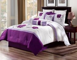 3PC Duvet Bed Cover Set Hypoallergenic Soft it Protects & Co