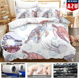 3Pcs Bedding Set Bedsure Duvet Cover Set Printed Soft For Co