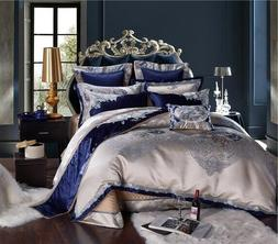 4/6/10 Pieces of Luxury Bedding King-size Cotton Bedspread S