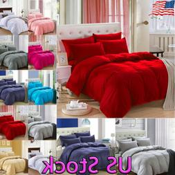 4 Pieces Set Kit  Flat Sheet Set Duvet Cover Pillow Cover Pi
