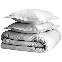 400 Thread Count 2 Piece Duvet Cover Set Twin/Twin XL, 100%