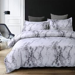 5 Colors Bedding Set Nordic Modern Style Marble Pattern Prin