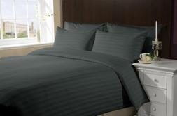 500 TC Egyptian cotton Duvet cover Italian Finish Stripe By