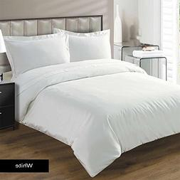 American Linen Collection 800 Thread Count- White Solid Zipp