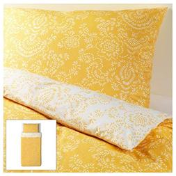 Ikea Akertistel 2pc Twin Duvet Quilt Cover 100 Percent Cotto