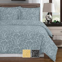 Abripedic Printed Super Soft Cotton Ema Duvet Cover 3-Piece
