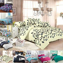 All Size Duvet with Pillow Case Quilts Covers Bedding Set Si