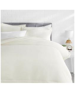AMAZON BASICS Microfiber Duvet Cover Bed Set Light & Soft -S