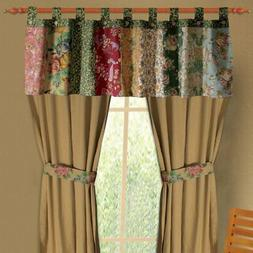Greenland Home Fashions Antique Chic - Valance - Floral - 21