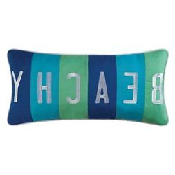Beachy Throw Pillow by C&F Home