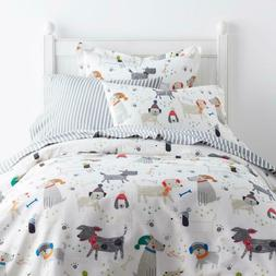 Bed Duvet Cover Kids Bedding Set Cotton Multicolored Playful