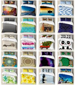 Bedding Duvet Cover Set Printed Bedroom and Dorm Decor by Am
