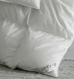 SFERRA CARDIGAN EUROPEAN DOWN COMFORTER / DUVET WITH 800+ HI