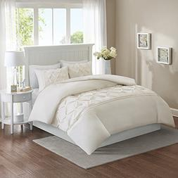 Comfort Spaces King Duvet Cover - Cavoy - Ivory Fashion Bedd