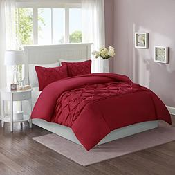 Comfort Spaces King Duvet Cover - Cavoy - Red Fashion Beddin