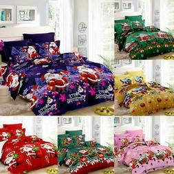 Christmas Duvet Cover Comforter Cover Bedding Set Twin Queen