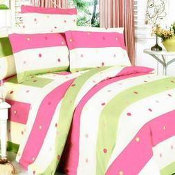 Blancho Bedding -  100% Cotton 5pc Mega Duvet Cover Set (twi