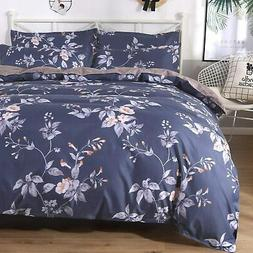 colorxy floral lightweight duvet cover 3 piece