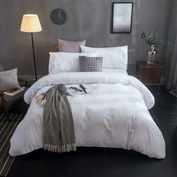 Merryfeel Cotton Duvet Cover Set,100% Cotton Embroidery Lace