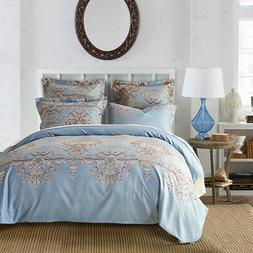 Cozy Bedding Set Well-made Polyester Reversible Duvet Cover