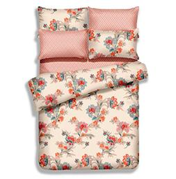 Dolce Mela DM501T 4 Piece Duvet Cover Set, Twin X-Large, Abl