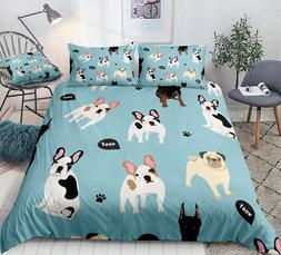 Dogs <font><b>Duvet</b></font> <font><b>Cover</b></font> <fo