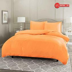 Nestl Bedding Duvet Cover 3 Piece Set – Ultra Soft Double
