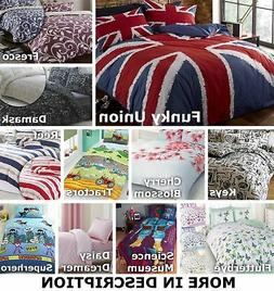 Duvet Cover & Pillowcase Bedding Bed Sets Bed Linen ALL SIZE