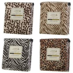 Duvet Cover and Shams 1800 Series Animal Prints King Queen F