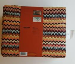 Missoni for Target Duvet Cover and Shams Set King colore NEW