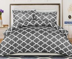 duvet cover microfiber printed with 2 pillow