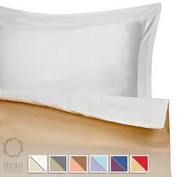 Nestl Bedding Duvet Cover Set for Comforter, Queen, Reversib