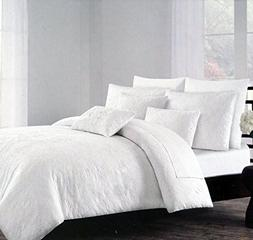 Duvet Cover Set Tahari Bedding 3 Piece Cotton Full / Queen S