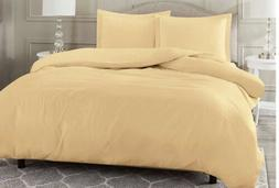 "Nestl Duvet Cover Set Brushed Microfiber Queen 90x90"" Came"