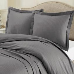 Duvet Cover Nestl Bedding Set With 2 Pillow Shams Charcoal G