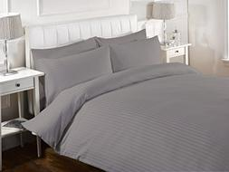 Bed Alter 5 Piece Striped Duvet Cover Set with Zipper & Corn